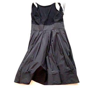 Black Ralph Lauren satin dress